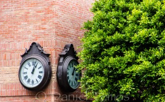 Art Photos - Clocks On Corner