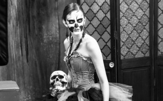 Costume Fashion Portrait - Skeleton 1