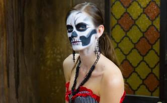 Costume Fashion Portrait - Skeleton 2